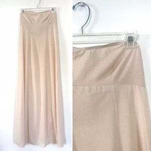 Vintage 1960's Glydons nude sleeveless maxi slip